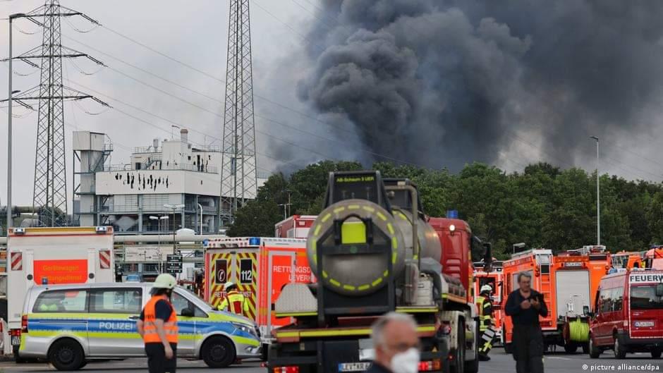 ლევერკუზენში, ქიმიურ ქარხანაში აფეთქების შედეგად დაღუპულთა რიცხვი ხუთამდე გაიზარდა