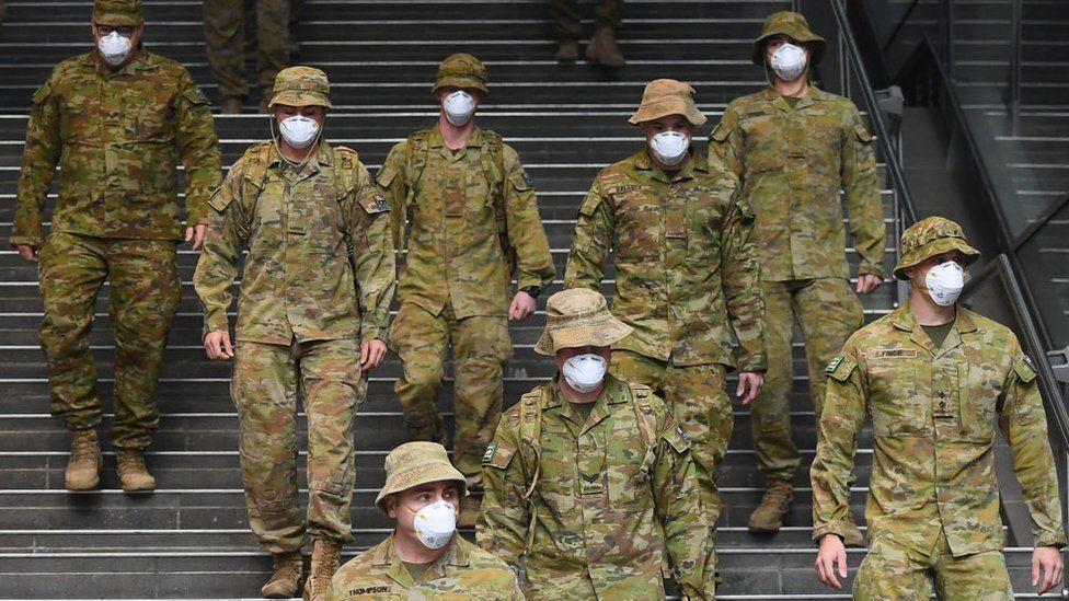 ავსტრალიის ხელისუფლება სიდნეიში ასობით ჯარისკაცს აგზავნის