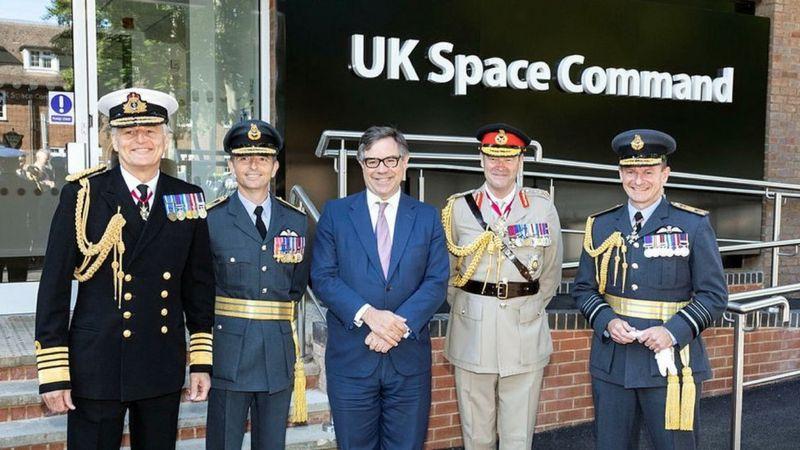 ბრიტანეთში კოსმოსური სარდლობის ცენტრი გაიხსნა