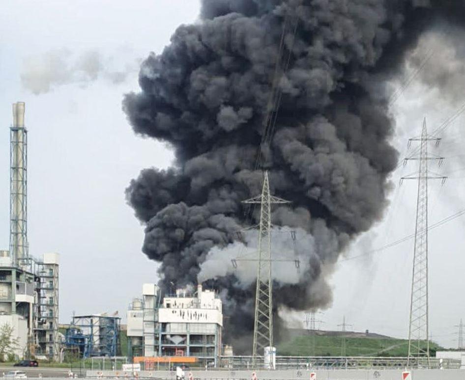 გერმანიის გარემოს დაცვის რეგიონულ სააგენტოში აცხადებენ, რომ ქიმიურ ქარხანაში მომხდარ აფეთქებას ტოქსიკური ნივთიერებების გავრცელება არ მოჰყოლია
