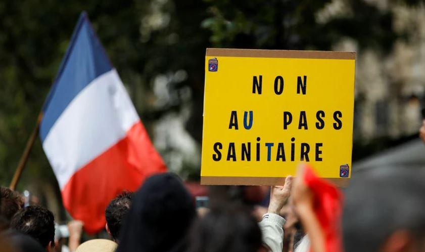 საფრანგეთში ათასობით მოქალაქემ კოვიდპასპორტების შემოღება გააპროტესტა