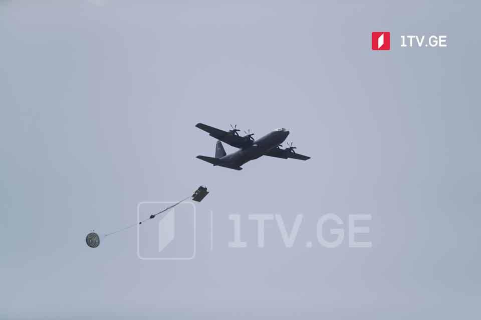 В рамках Agile Spirit 2021 прошли воздушно-десантные учения с участием грузинских и американских военнослужащих (фото)