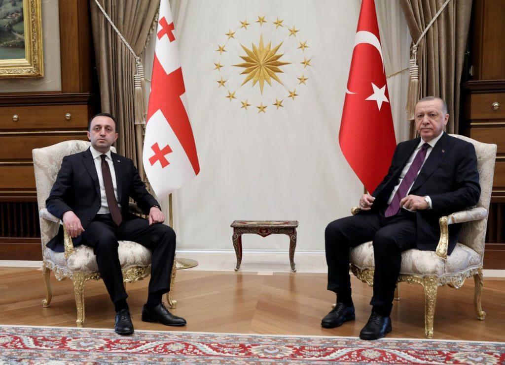 Georgian PM, Turkish President hold telephone talks