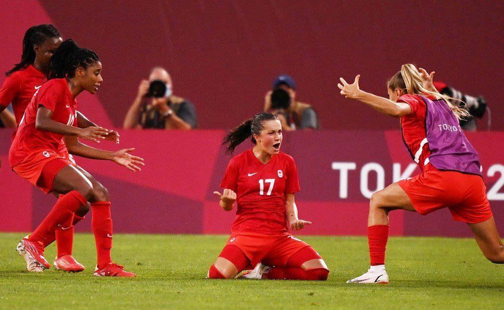 ქალთა შორის ტოკიოს ოლიმპიადის ფინალში შვედეთი და კანადა ითამაშებენ #1TVSPORT