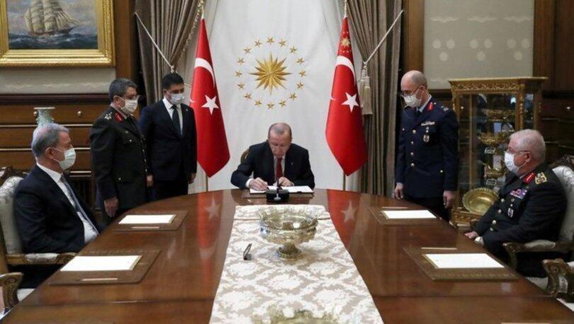 რეჯეფ თაიფ ერდოღანი თურქეთის უმაღლეს სამხედრო საბჭოს იწვევს