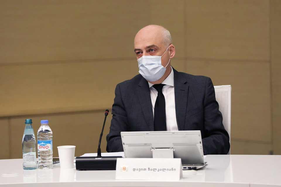 Давид Залкалиани поблагодарил власти Бельгии за предоставление Грузии 86 400 доз вакцины AstraZeneca