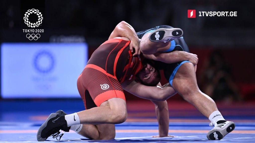 Wrestler Geno Petriashvili qualifies for final at 2020 Tokyo Olympic Games
