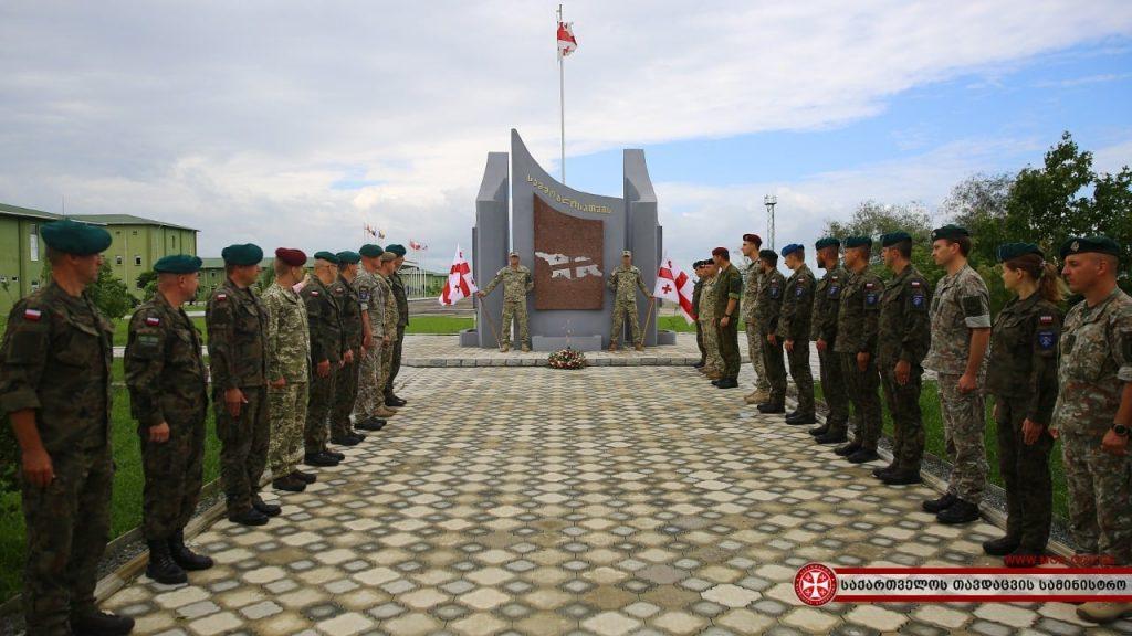 Вооруженные Силы Украины выразили солидарность с Силами обороны Грузии