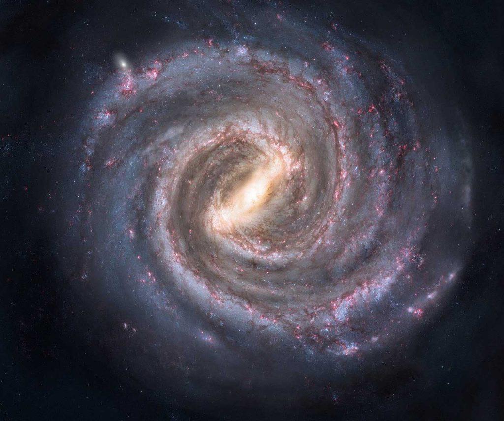 ირმის ნახტომში უზარმაზარი, გაურკვეველი სტრუქტურა აღმოაჩინეს — #1tvმეცნიერება