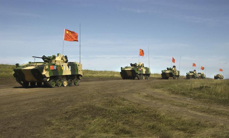 Россия и Китай проводят совместные широкомасштабные военные учения