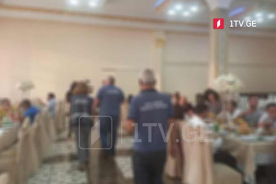 ქორწილის გამო, გლდანში ერთ-ერთი რესტორანი 10 000 ლარით დაჯარიმდა