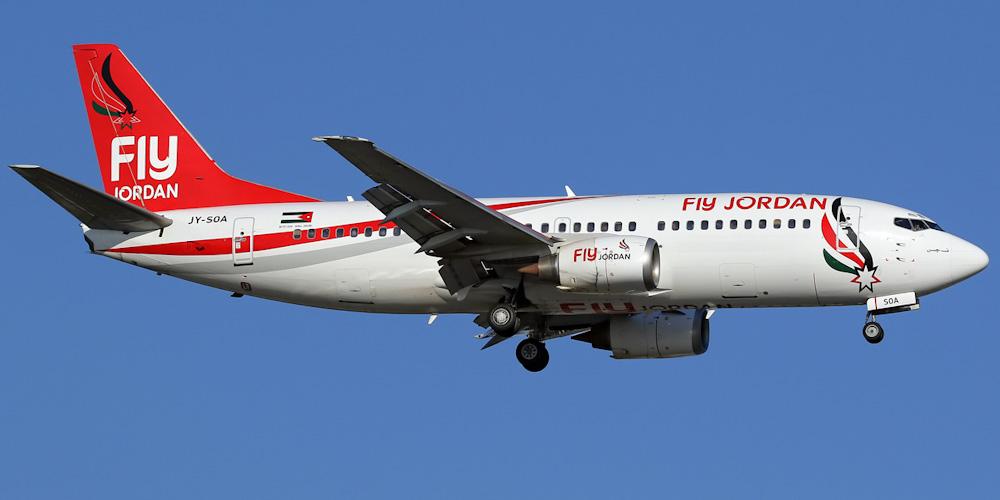 ავიაკომპანია Fly Jordan საქართველოს მიმართულებით ოპერირებას განაახლებს