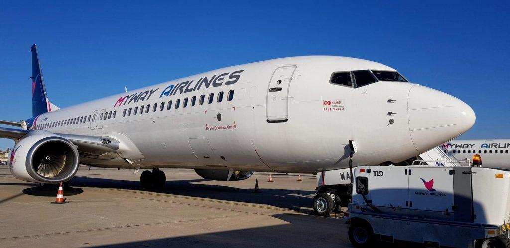 ავიაკომპანია Myway Airlines-ი პოლონეთის მიმართულებით ჩარტერულ ფრენებს შეასრულებს