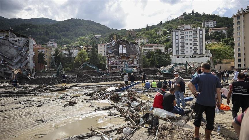 თურქეთში წყალდიდობის შედეგად დაღუპულთა რიცხვი 40-მდე გაიზარდა