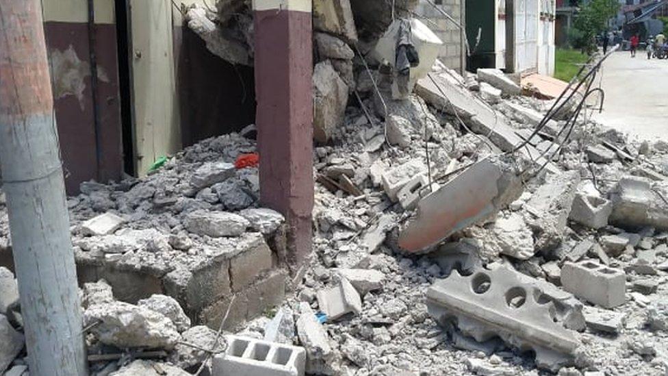 ჰაიტიზე მიწისძვრის შედეგად დაღუპულთა რიცხვი 227-მდე გაიზარდა