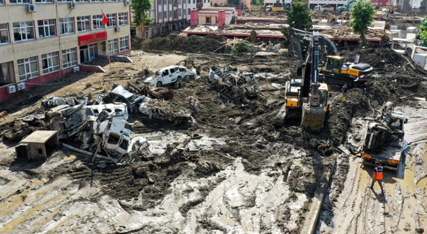 თურქეთში წყალდიდობის შედეგად გარდაცვლილთა რიცხვი 77-მდე გაიზარდა