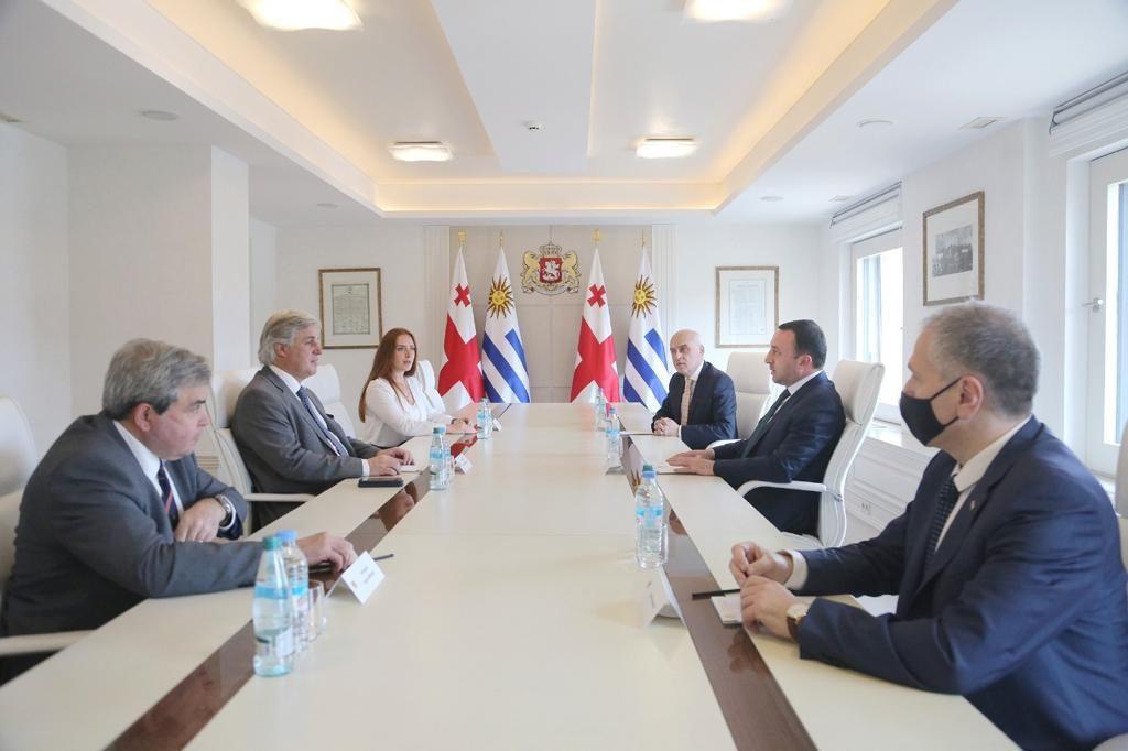 Ираклий Гарибашвили встретился с министром иностранных дел Уругвая