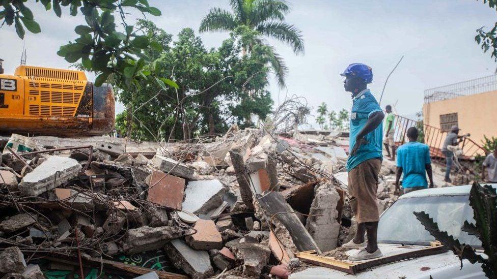 კუნძულ ჰაიტიზე მიწისძვრის შედეგად დაღუპულთა რიცხვი 2 189-მდე გაიზარდა