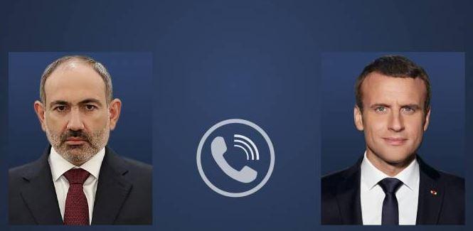 ნიკოლ ფაშინიანმა და ემანუელ მაკრონმა სატელეფონო საუბარი გამართეს