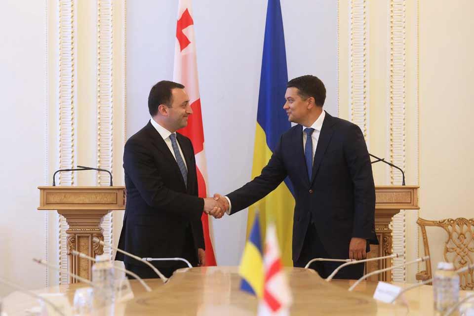 Georgian PM, Chairman of Verkhovna Rada meet