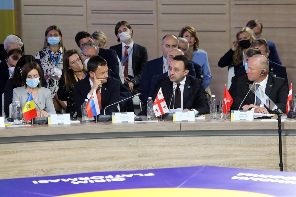 Unresolved conflicts undermine whole European, Euro-Atlantic security, PM addresses Crimea Platform Summit