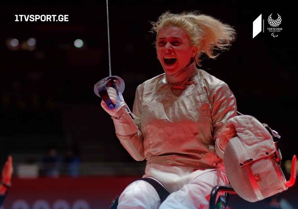 Паралимпиада-2020 | Нино Тибилашвили завоевала серебряную медаль #1TVSPORT