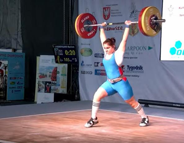 ძალოსნობა   15 წლის მარიამ მურღვლიანი ევროპის ჩემპიონი გახდა [ვიდეო] #1TVSPORT