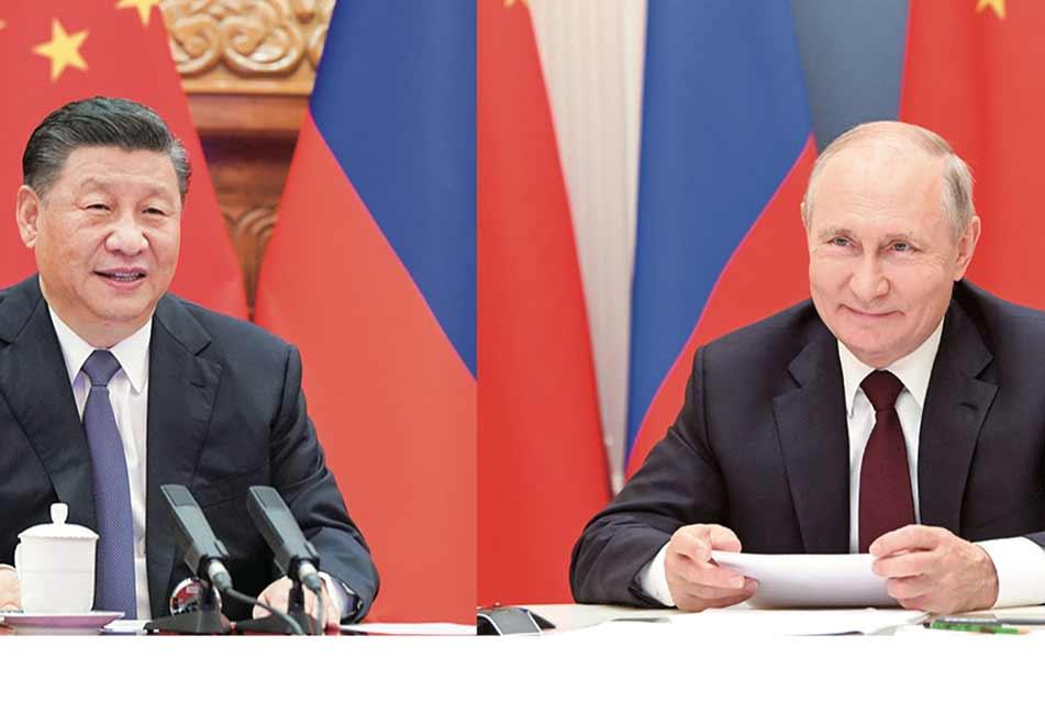 ჩინეთის ხელისუფლების ლიდერი და რუსეთის პრეზიდენტი ავღანეთთან დაკავშირებით კოორდინაციის გაძლიერებაზე შეთანხმდნენ