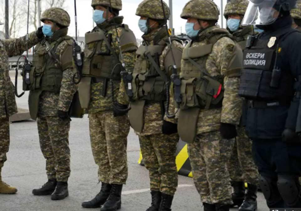 ყაზახეთის ჟამბილის პროვინციაში, სამხედრო ობიექტზე აფეთქების შედეგად სულ მცირე 32 ადამიანი დაშავდა
