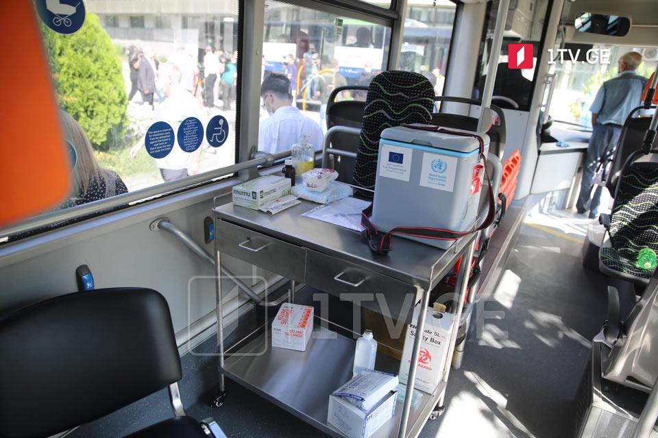 Municipal buses to turn into immunization facilities