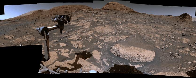 მავალმა Curiosity-მ მარსის ახალი პანორამული ხედები გადაიღო — #1tvმეცნიერება