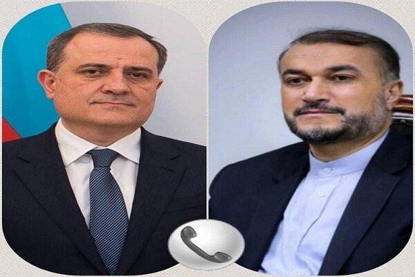 აზერბაიჯანისა და ირანის საგარეო საქმეთა მინისტრებს შორის სატელეფონო საუბარი გაიმართა