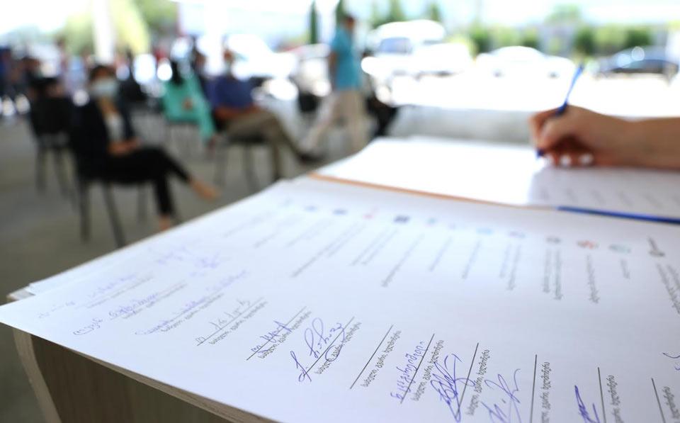 ცესკო-მ და ადგილობრივმა სადამკვირვებლო ორგანიზაციებმა ქცევის (ეთიკის) კოდექსი გააფორმეს