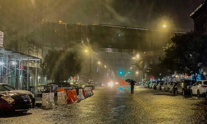"""ქარიშხალ """"იდას"""" გამო ნიუ იორკში საგანგებო მდგომარეობა გამოცხადდა"""