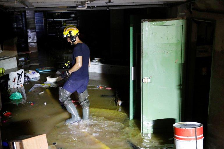 ესპანეთის რამდენიმე რეგიონში შტორმმა წყალდიდობა გამოიწვია, ათასობით აბონენტი ელექტროენერგიის გარეშეა დარჩენილი