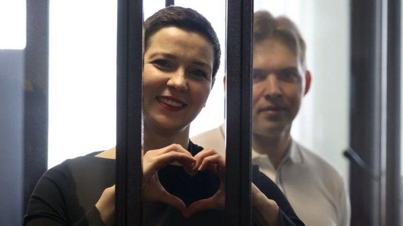ბელარუსის ოპოზიციის ლიდერს, მარია კოლესნიკოვას 11 წლით პატიმრობა მიუსაჯეს