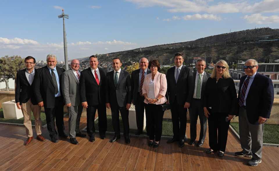 Ираклий Гарибашвили встретился с делегацией конгрессменов США