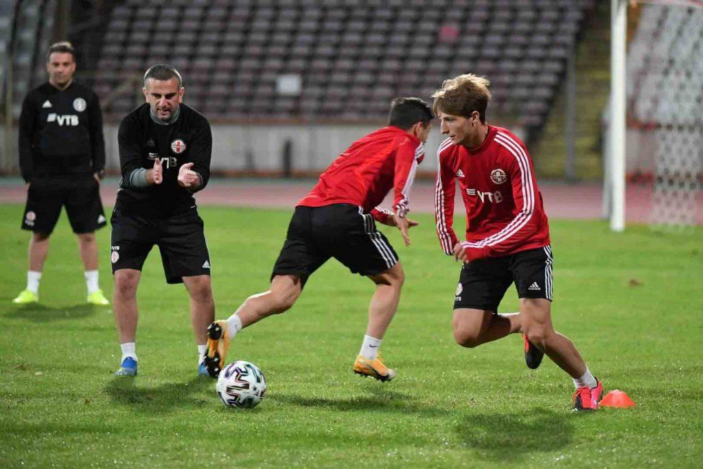U21  რუმინეთი – საქართველოს მატჩი ტელესკოლისპირდაპირ ეთერში 21:55 საათზე დაიწყება#1TVSPORT