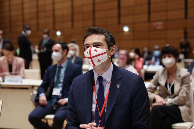 კახა კუჭავა - მსოფლიოს პარლამენტების სპიკერთა საერთაშორისო კონფერენციის ფარგლებში საქართველოსთვის მნიშვნელოვან ბევრ საკითხს განვიხილავთ