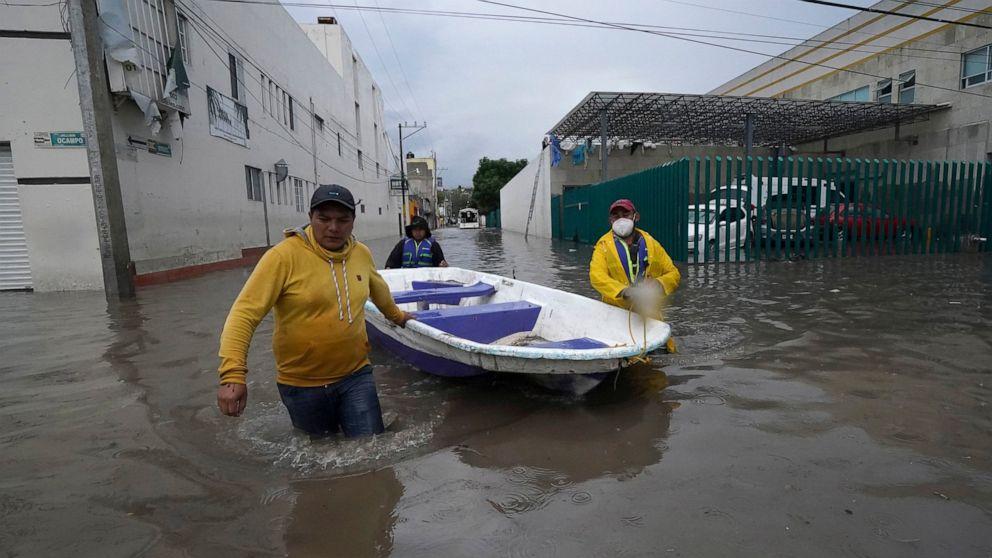 მექსიკაში წყალდიდობის შედეგად საავადმყოფო დაიტბორა, დაიღუპა 17 ადამიანი