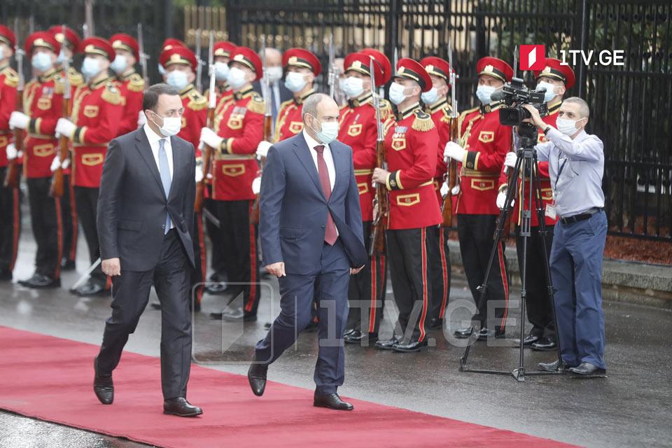 Начался визит премьер-министра Армении Никола Пашиняна в Грузию