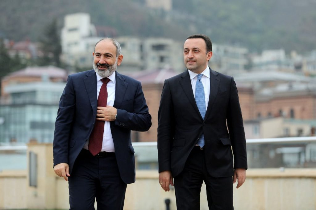 Georgian PM to committo active mediation towards confidence building between Armenia-Azerbaijan