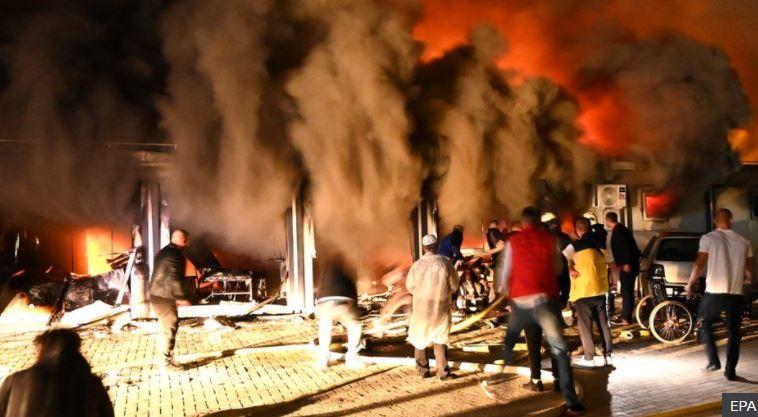 ჩრდილოეთ მაკედონიაში, საავადმყოფოში ხანძრის შედეგად 10 ადამიანი დაიღუპა