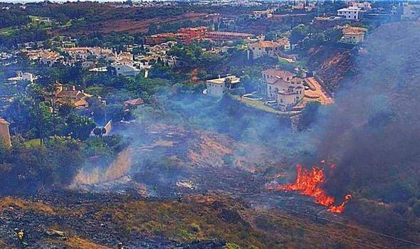 მედიის ინფორმაციით, ესპანეთის სამხრეთ რეგიონში ხანძრის გამო 500 ადამიანის ევაკუაცია განხორციელდა