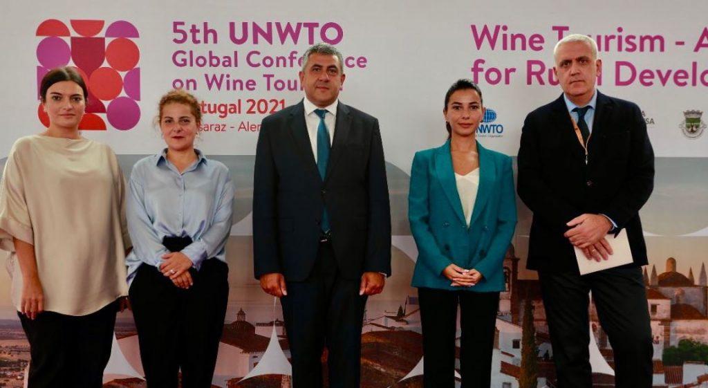 UNWTO-ს ღვინის ტურიზმის საერთაშორისო კონფერენციის მონაწილეები საქართველოს ღვინის ტურიზმის პოტენციალს გაეცნენ