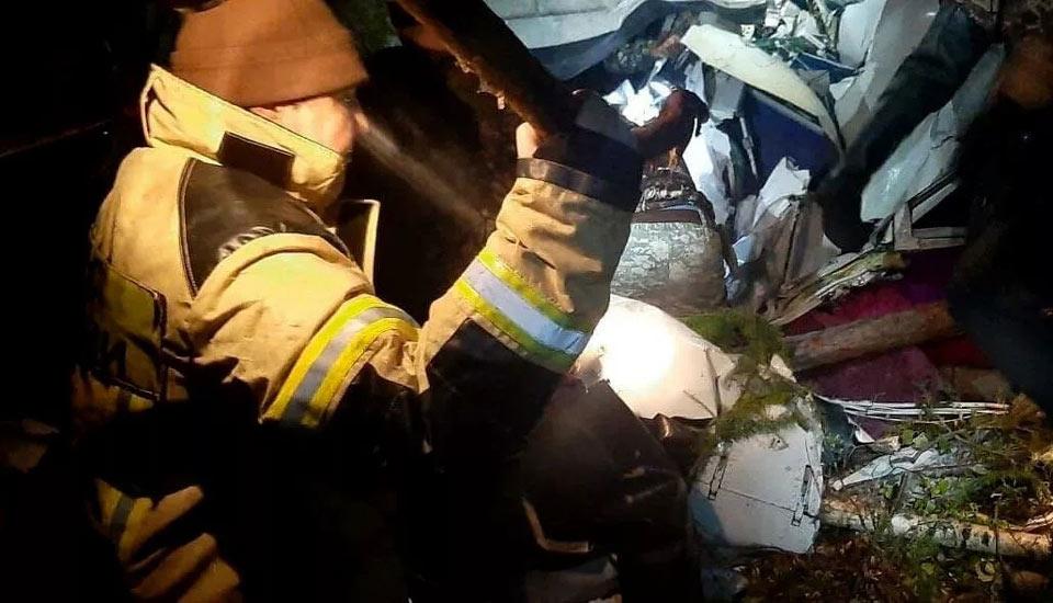 რუსეთში, ირკუტსკის ოლქში მცირე ზომის თვითმფრინავის ავარიული დაშვების შედეგად ოთხი ადამიანი დაიღუპა