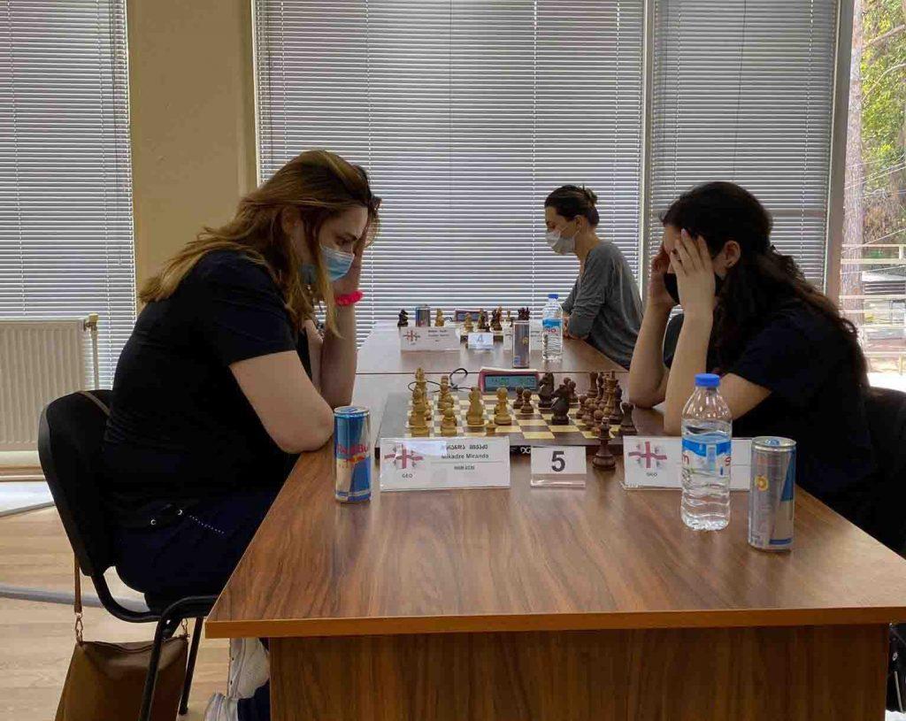 ჭადრაკის სასახლეში ნონა გაფრინდაშვილის სახელობის ტურნირი დაიწყო#1TVSPORT