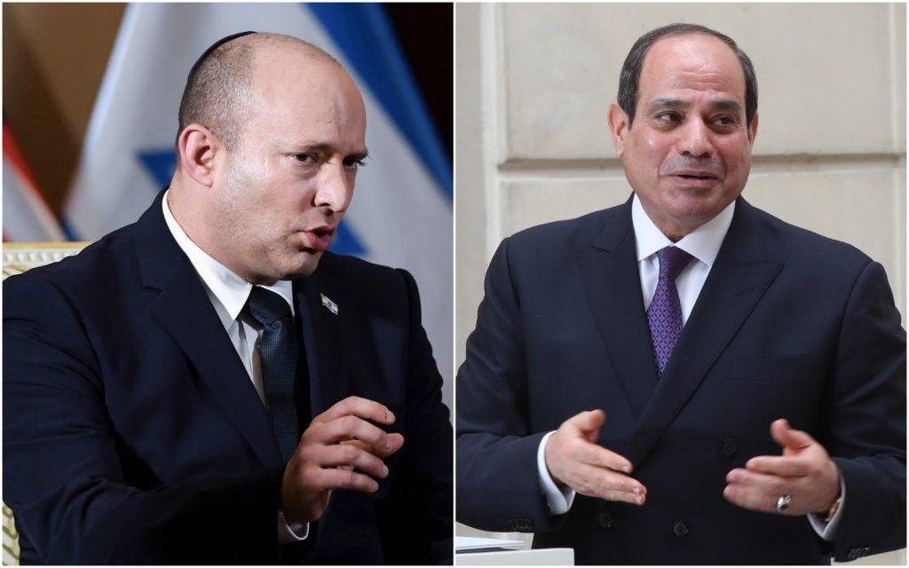 ისრაელის პრემიერ-მინისტრი და ეგვიპტის პრეზიდენტი დღეს შარმ-ელ-შეიხში შეხვედრას გამართავენ