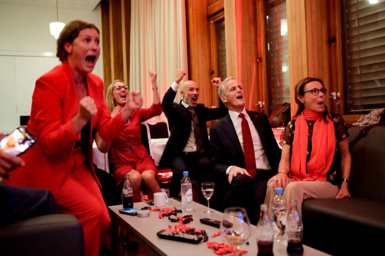 ნორვეგიაში მემარცხენე ოპოზიციამ საპარლამენტო არჩევნებში გაიმარჯვა