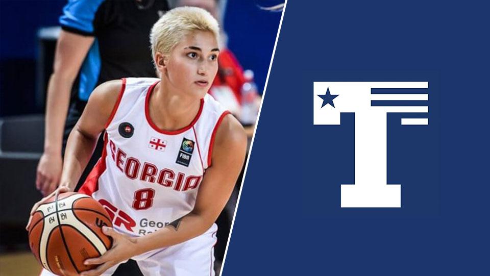 """მეორე ქართველი ქალი NCAA-ში- ელენე ილურიძე """"ტაილერ პეტრიოტსში"""" ითამაშებს #1TVSPORT"""